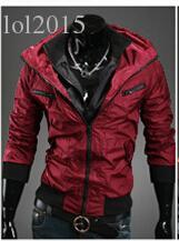 Automne-2015 nouveaux produits énumérés cultiver sa moralité fashion veste / homme loisirs Manteau cardigan à capuche zipper / hoodie coupe-vent