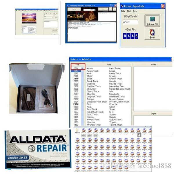 2016 Latest Version Alldata Auto Repair Software Alldata 10 53 Alldata  Mitchell Ondemand Best Selling With 1tb Hdd Free Ship Ssd Diagnostic Tool  Tool