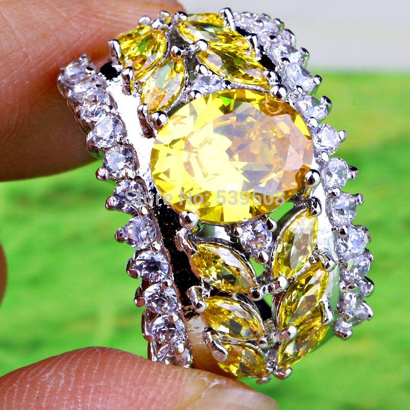 La dimensione ovale dei monili di colore della boemia dei monili ovali ha tagliato la dimensione 7 dell'anello dei monili dell'argento 925 all'ingrosso Trasporto libero