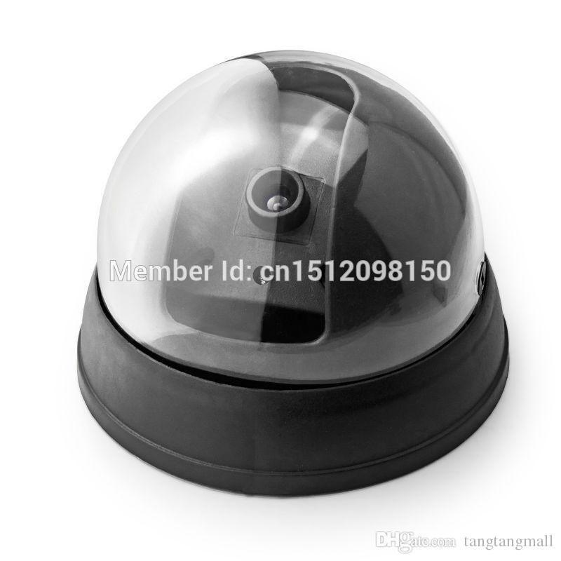 Бесплатная доставка! Новая модель низкая цена открытый водонепроницаемый ИК CCTV манекен купол поддельные светодиодные камеры наблюдения безопасности A5