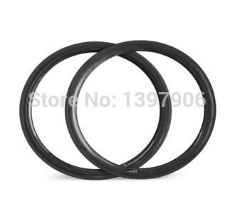 100% Hand built cheap ud glossy Wheel 50mm*23mm 700c full carbon rim clincher road bike Rims
