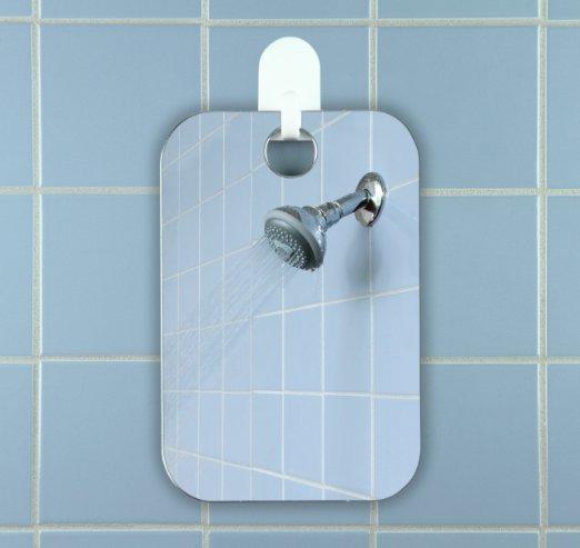 Fogless Mirror Bathroom Makeup Reflection Glass Shower Fog-free Mirror Shaving