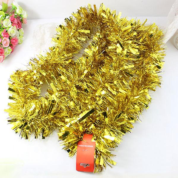 reputable site 6e907 b836a Christmas Tree Tinsel Garland Decorations Golden Xmas Party Decoration  Silver / White / Red / Blue / Green / Hotpink Mustache Party Decor Nemo  Party ...