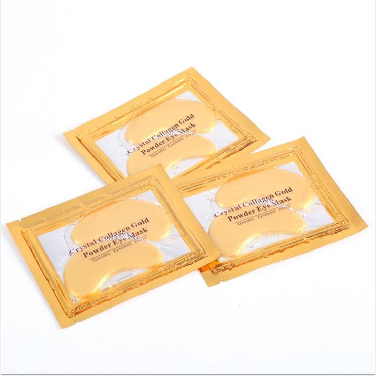 top items PILATEN Collagen Crystal Eye Masks moisturizing Eye masks collagen gold powder eye mask DHL free shipping
