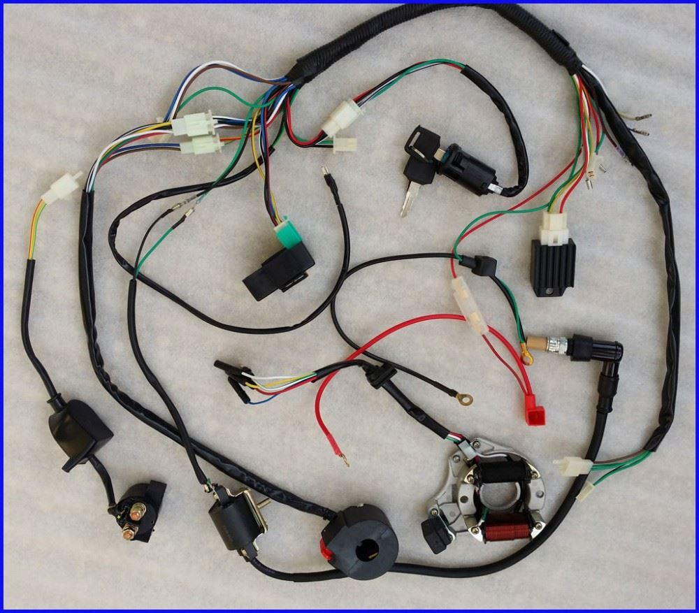 us stock complete electrics atv quad 50 70 110 125cc coilcdi now car radio and motorcycle parts accessories are very common in every car the drivers and passengers need the motorcycle parts catalog to relax their
