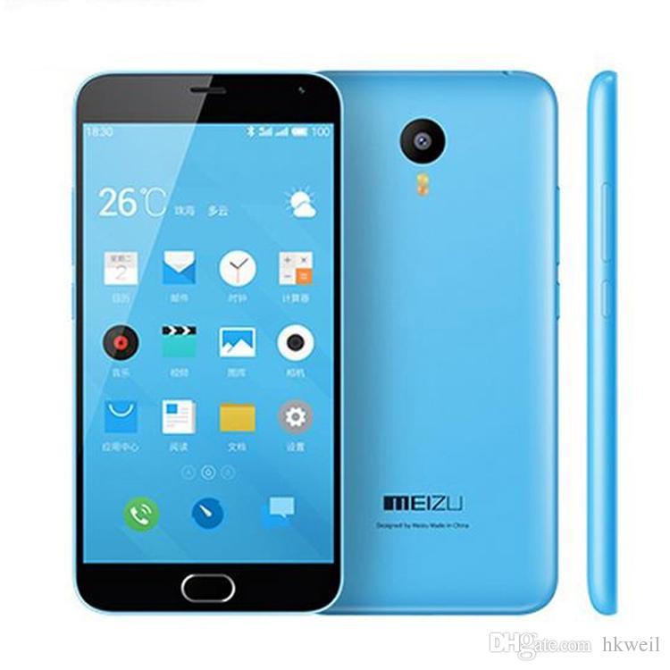 Telefones MEIZU M2 NOTA Flayme4.5 MTK6753 64BIT Octa Núcleo 5.5Inch 1080P 2G RAM 16G ROM OTG Dual Sim inteligentes