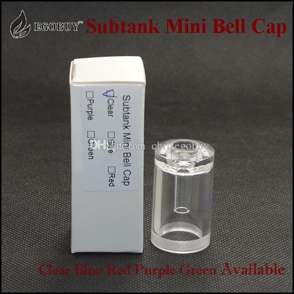 2015 Subtank mini bell cap PMMA замена крышки самолета танки оптом для kangertech sub танк subtank mini kanger subox mini sub box kit