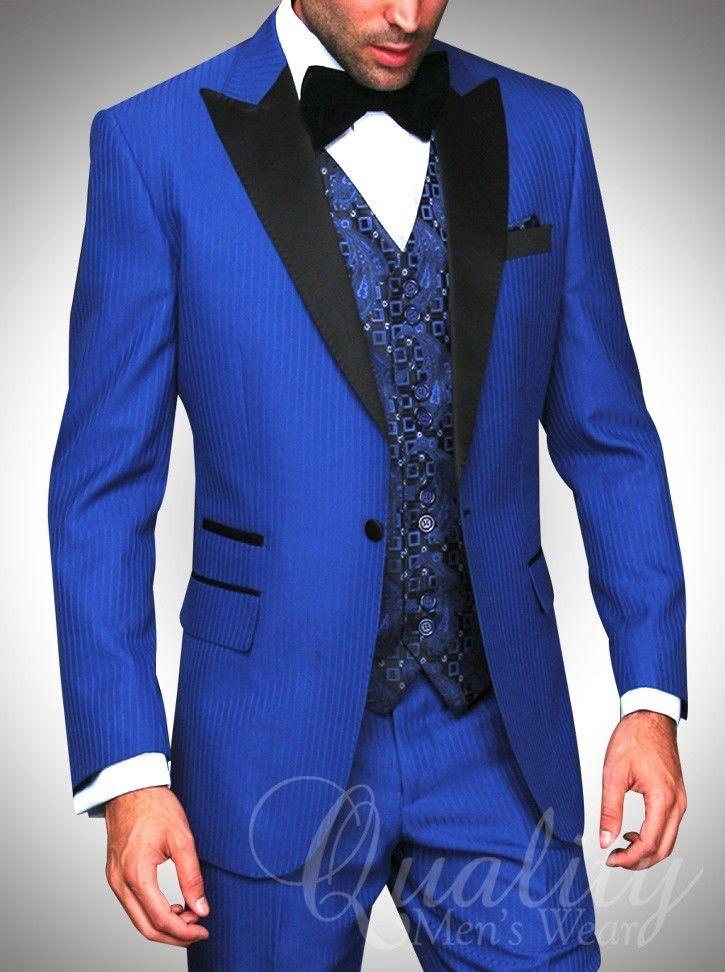 Amazing Groom In Blue Suit Crest - Wedding Ideas - nilrebo.info