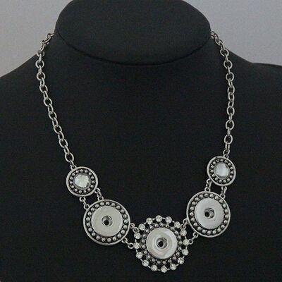 5 PCS 3 Snap Statement 스냅 보석류 Gingersnaps jewelry, Noosa, 목련 포도 나무와 같은 브랜드의 목걸이, 스냅인 매력