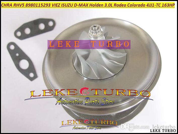 Turbocharger Turbo Cartridge CHRA core RHV5 8980115293 VDD30013 VIEZ For HOLDEN Rodeo 3.0L CRD Colorado ISUZU D-MAX 07- 4JJ1T 4JJ1-TC 163HP