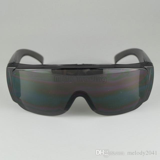 Óculos de Segurança Anti-Riscado Grande Quadro Óculos de Segurança À Prova de Poeira À Prova de Vento-Trabalho de Trabalho de Proteção Preto E Branco 20 PCS Navio Livre