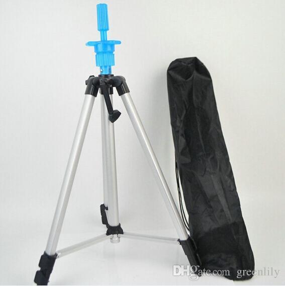 Maniquí Cabeza trípode soporte titular Cosmetología Maniquí trípode para entrenamiento cabeza muñeca Soporte ajustable soporte con bolsa