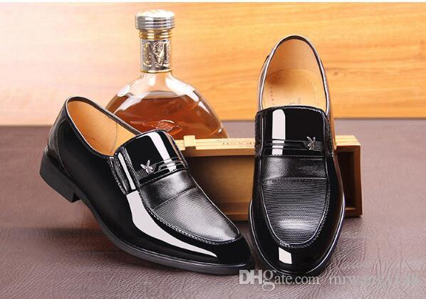 Formal Leather Mens Shoes Oxford Dress Shoes for Men