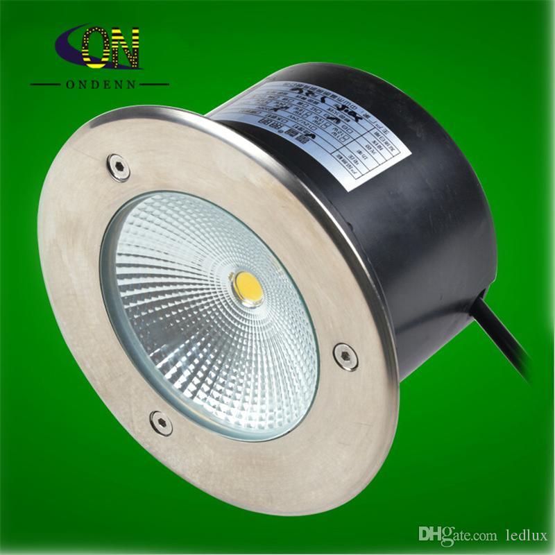 8 pz / lotto IP67,10 W LED COB Luce Sotterranea, LED Da Incasso A LED Luci di Inondazione AC85-265 V Spedizione Gratuita