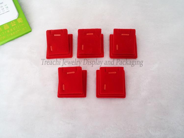 5шт х Красный бархат ювелирные изделия дисплей стенд Магнитный держатель Pad лист дисплей для серьги