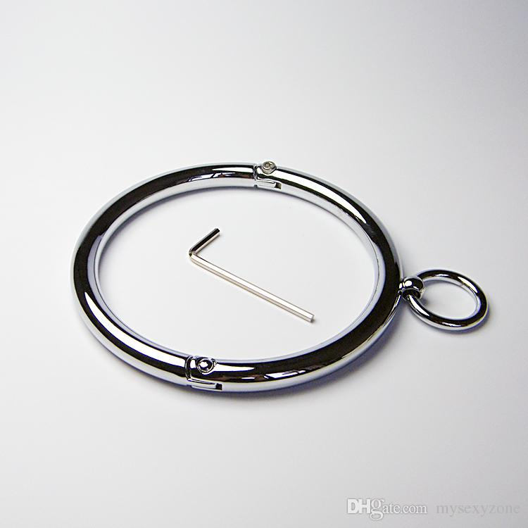 Сплав установки рабовладельцев устройства с круглым воротом воротник игрушки пенис кольцо петух кольцо горячая распродажа на нашем заводе
