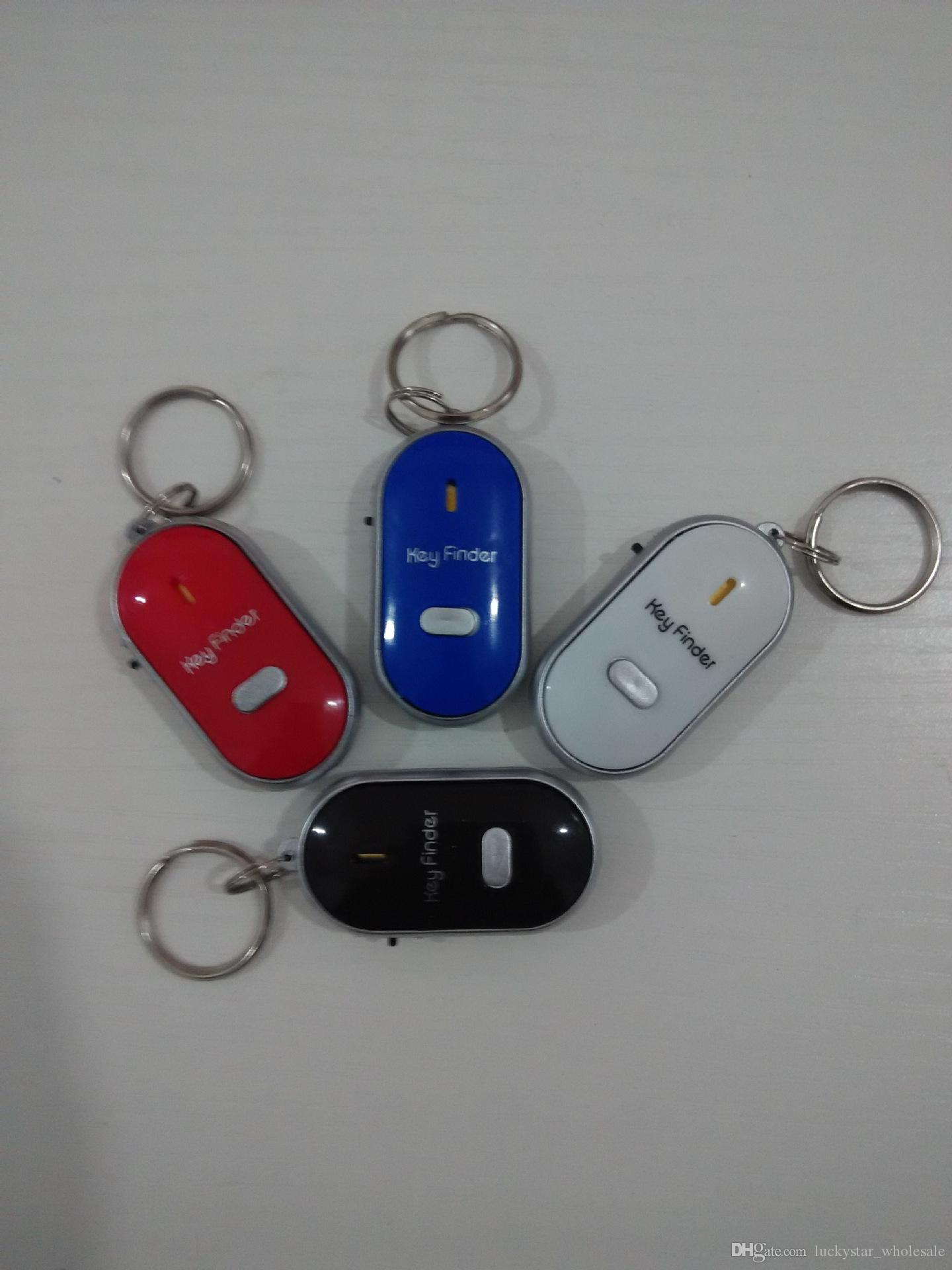 الشحن dhl بعيد مفتاح مكتشف محدد العثور فقدت مفاتيح سلسلة المحمول مكتشف محفظة مكتشف المفاتيح صافرة تحكم الصوت مع on / off التبديل