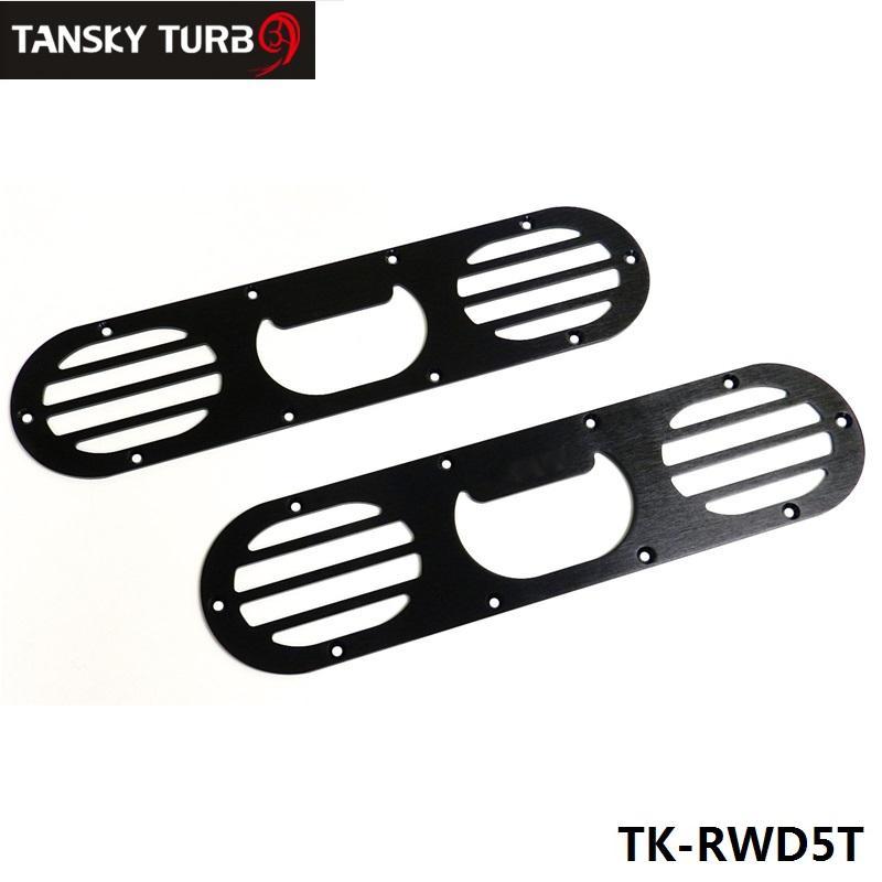 새로운 자동차 유니버설 복장 스타일링 후면 범퍼 공기 전환 디퓨저 패널 범퍼 공기 확산기 2pcs TK-RWD5T
