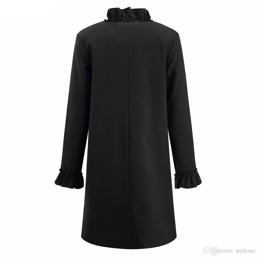 Vero Moda Celeb-Manica lunga Camicia-BLACK