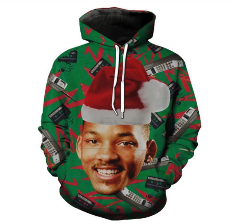 New Fashion Hip Hop 3d Hoodies Fresh Prince of Bel-Air Christmas Printed Women/Men Hoody Streetwear Hooded Sweatshirts LMS0039