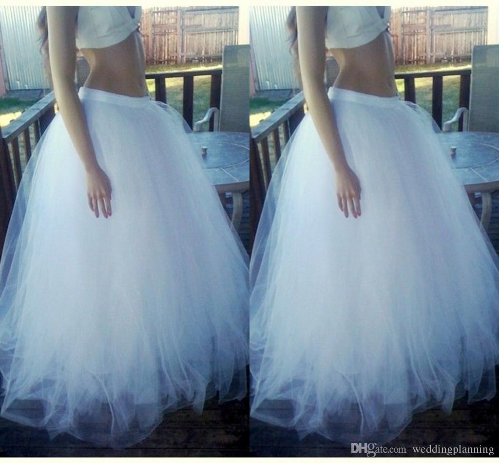 In Stock A buon mercato Sottoveste Spedizione gratuita Make To Order Petticoat Cheap Gonna Ball Gown Petticoat per la festa nuziale formale evento personalizzato 2015