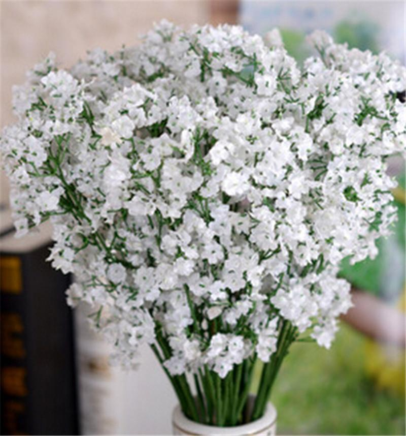 2020 Gypsophila Babys Breath Artificial Fake Silk Flowers Plant Home Wedding Decoration From Dianz 0 26 Dhgate Com