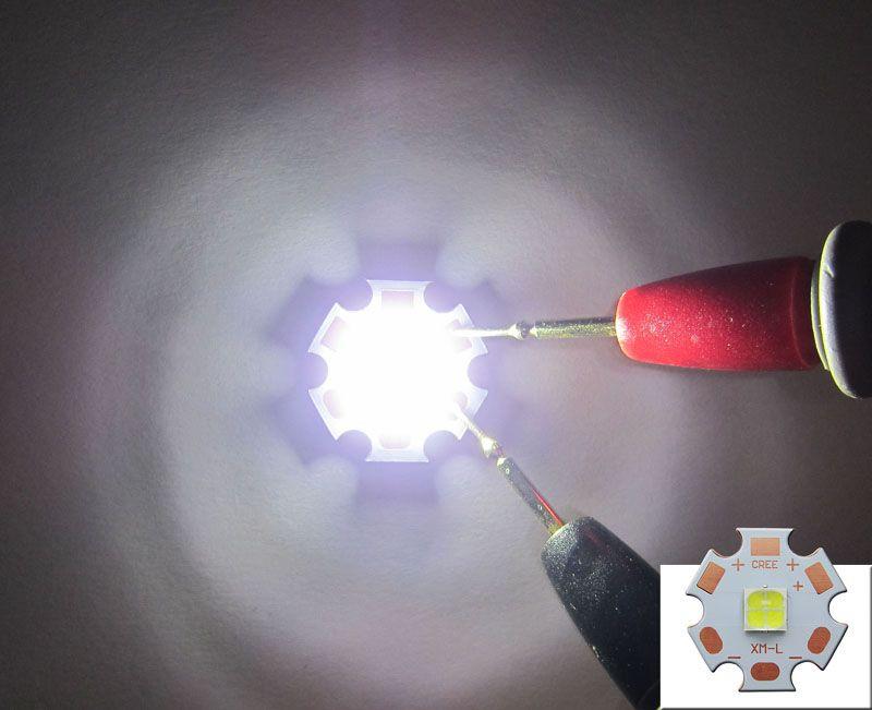 Cree XHP50 White 6000-6500k Led Chip Light 6V With 20mm Copper PCB Board 50pcs/lot