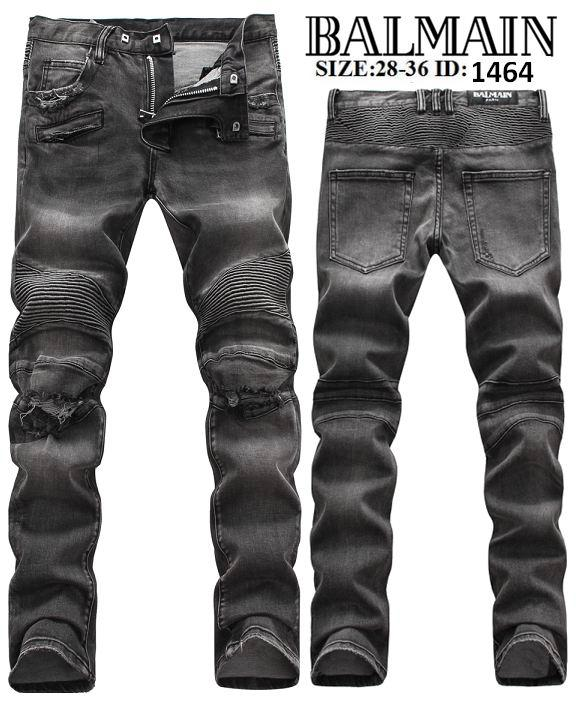 various styles the sale of shoes los angeles 2019 New Balmain Jeans Straight Jeans Long Denim Men Top Quality Black Hot  Sell Pants Size 28 36 From Jjlink, $54.83 | DHgate.Com