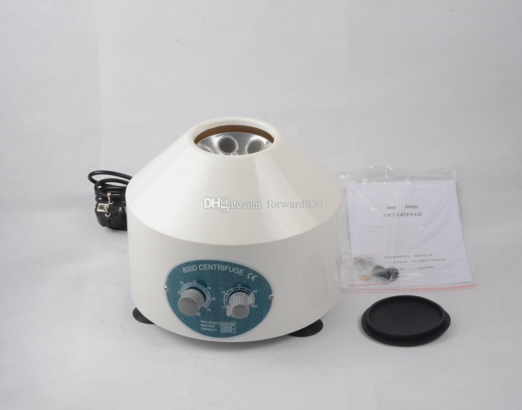 o mais recente laboratório de centrifugação do laboratório de centrifugação para a área de trabalho, 800D, 4000rpm CE 6 x 20 ml 110V / 220V