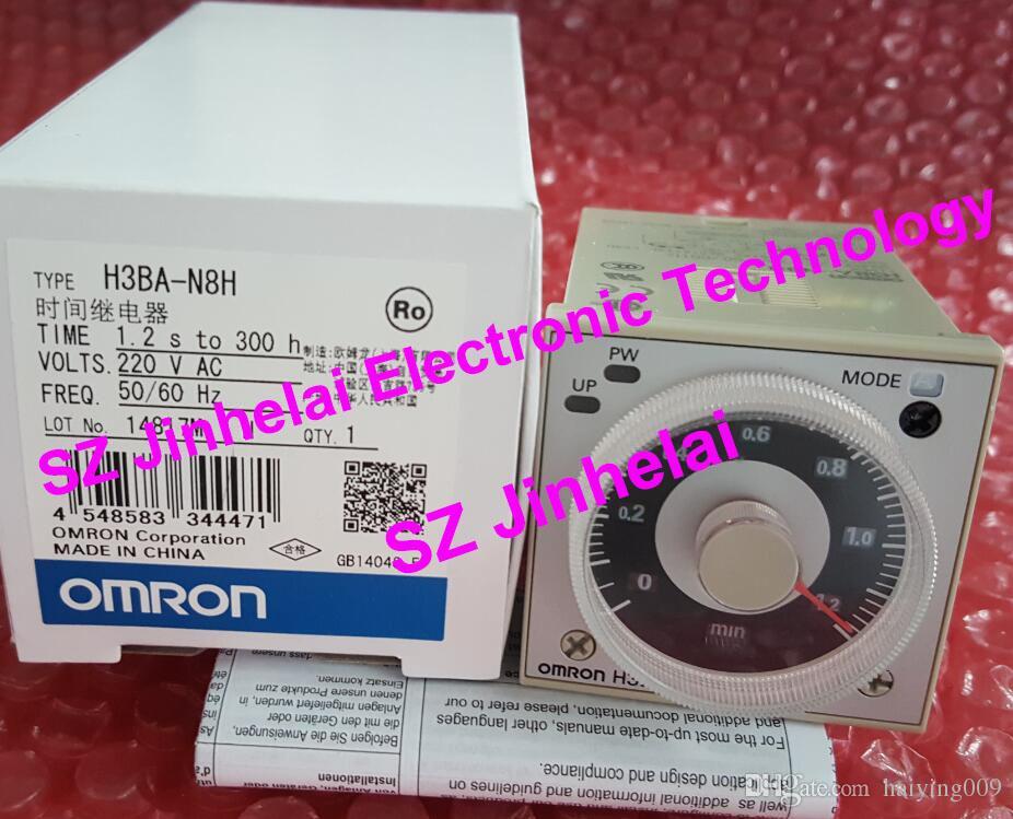 H3BA-N8H 220VAC Novo e original OMRON TIMERS TIME RELAY AC220V