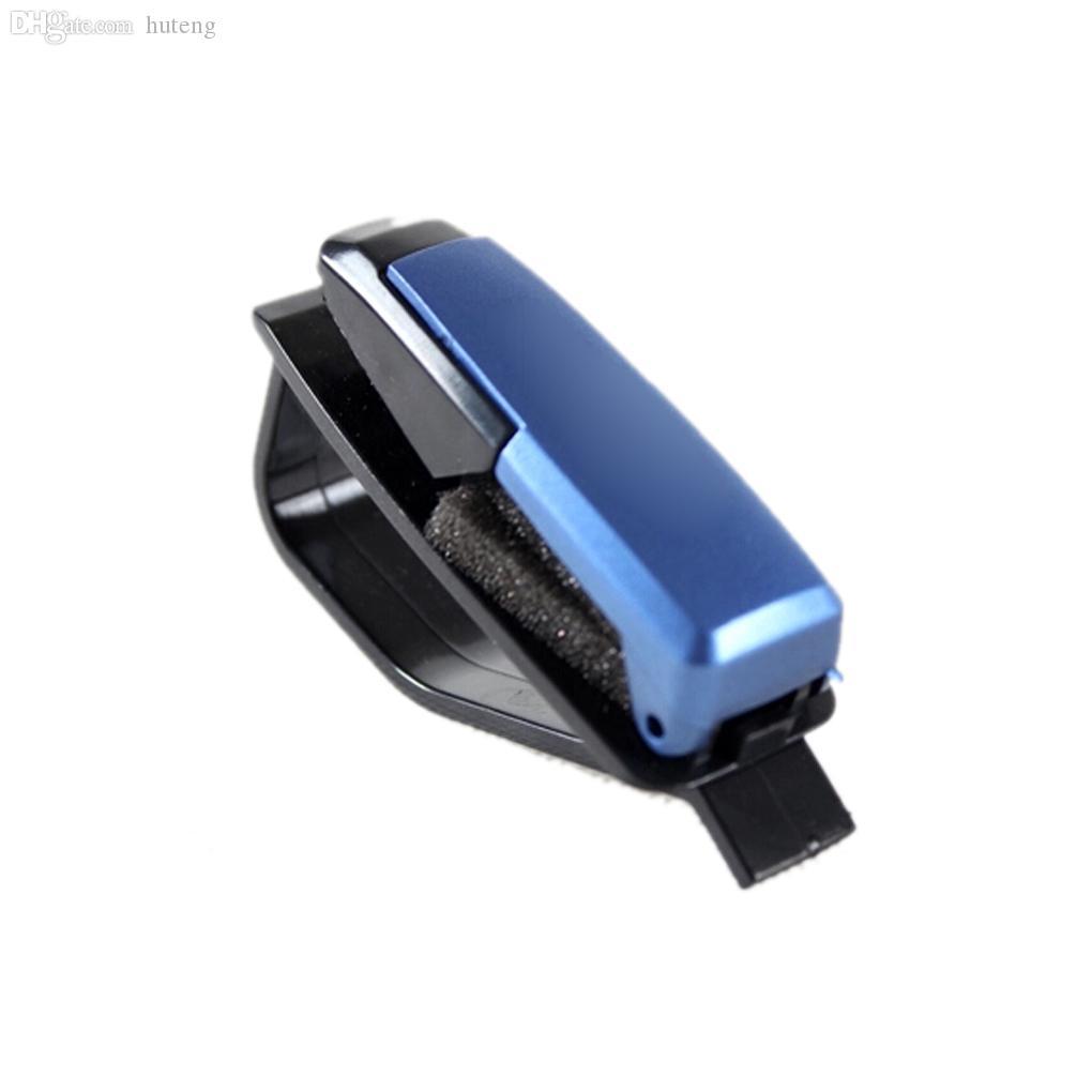Toptan-4 renkler S-şekilli Güneş Gözlüğü Gözlük çerçeveleri Araba Oto Güneşlik Gözlük Güneş Gözlüğü Kart Bilet Tutucu Kalem Klip