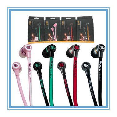 패션 미니 영혼 SL49 영혼으로 루다에서 귀 이어폰 이어폰 헤드셋 헤드폰 스마트 Phoens S4 S3 HTC 4 색