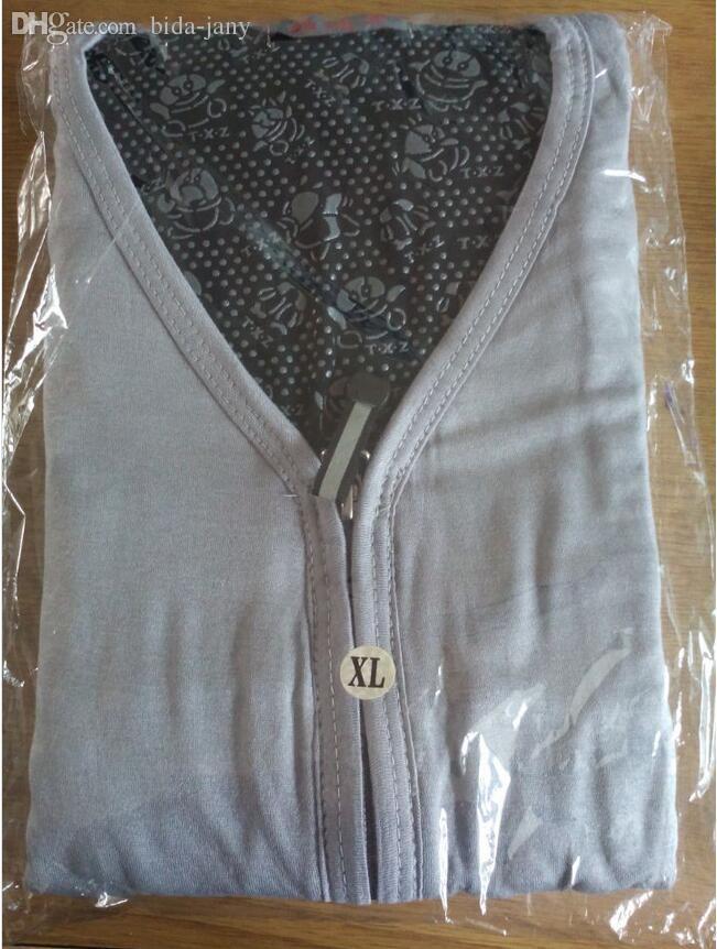 Al por mayor-Turmalina chaleco largo magnético Womens Waist Coats calentamiento automático chalecos cálidos prendas de vestir exteriores más el tamaño