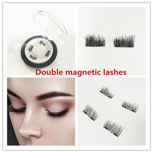 3D-Magnet falsche Wimpern Saug Stein Mascara magnetische magnetische Schnalle ohne Kleber dreidimensionale Mehrschicht natürlicher dick