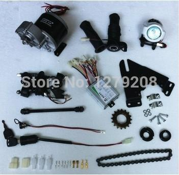 MY1016Z3 350 W 24 V elektrikli dişli fırça motoru, elektrikli bisiklet motor kiti, elektrikli bisiklet conversion kiti