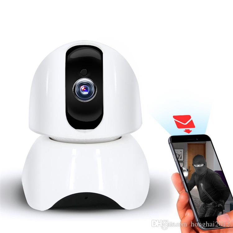 Free shipping home security alarm system night vision wireless video baby monitor camera