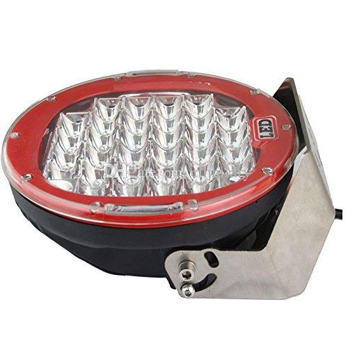 9 Pouces 185 W 4 X 4 LED Conduite Lumière CREE LED Hors route Lumière 12 V 24 V pour Voiture Offroad 4 roues SUV Jeep Camion Tache Flood Super Bright LED Spotlight