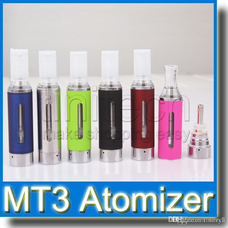 MT3 Clearomizer eVod BCC MT3 Atomizer 2.4ml Bottom Coil Tank Cartomizer for EGO EGO-C EGO-W EGO-T Series E-Cigarette E Cig Colorful