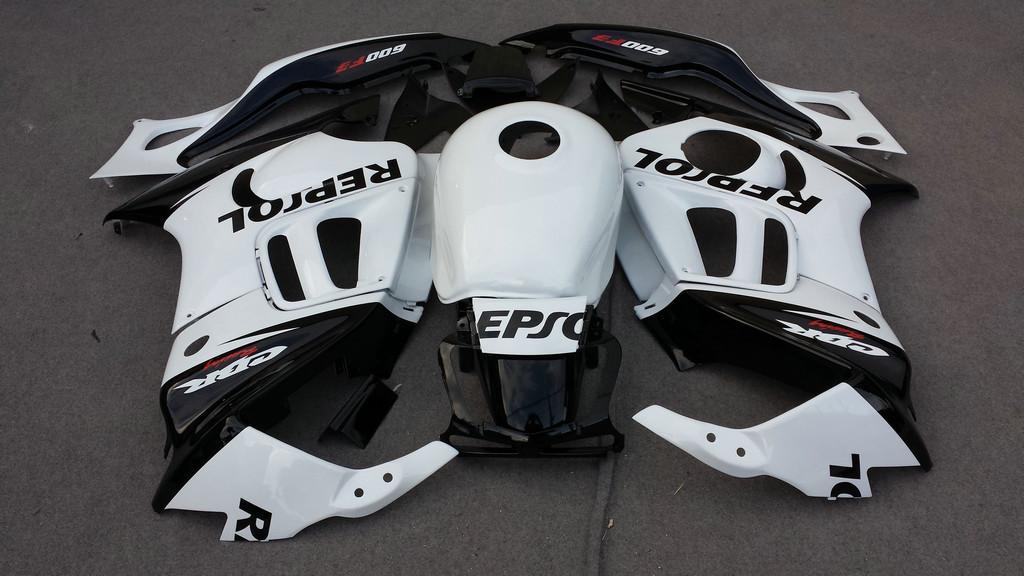 Zestaw do obróbki motocykli do Honda CBR600F3 97 98 CBR 600F3 CBR600 CBR 600 F3 1997 1998 Repsol Wishing Set + 7GIFTS! Hq66.