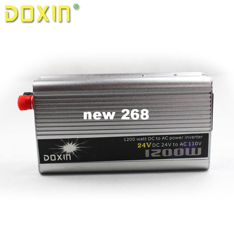 자동차 자동 자동차 전원 뜨거운 판매 ST-N013에 대 한 AC 110V 자동차 전원 인버터 충전기 변환기 1200W DC 24V