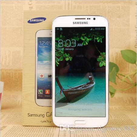 """Original desbloqueado Samsung Galaxy Mega 5.8 I9152 Telefone Celular 1.5GB / 8GB 5,8 """"8.0MP Remodelado"""