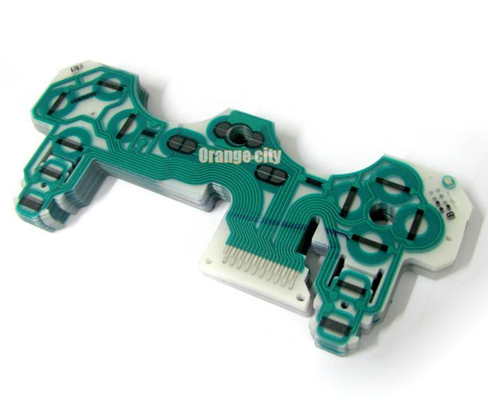 PlayStation 3 PS3コントローラ用のSA1Q160A導電膜キーパッドのフレックスケーブルの修理回路基板部分
