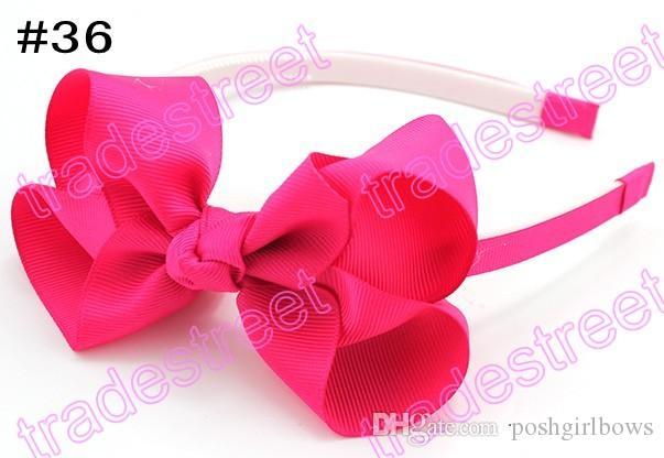 Бесплатная доставка 120pcs 4.5''baby ДЕВУШКА ободки бигуди ободки повязки для девочек innfant