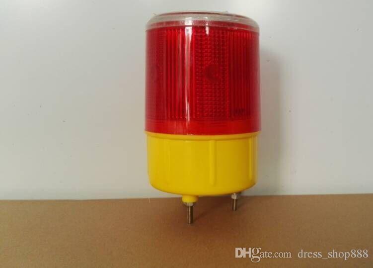 Weglamp, Solar Energy High Altitude Hindernislamp, LED Road Blok Bouw Waarschuwingslamp Solar I Warning Light