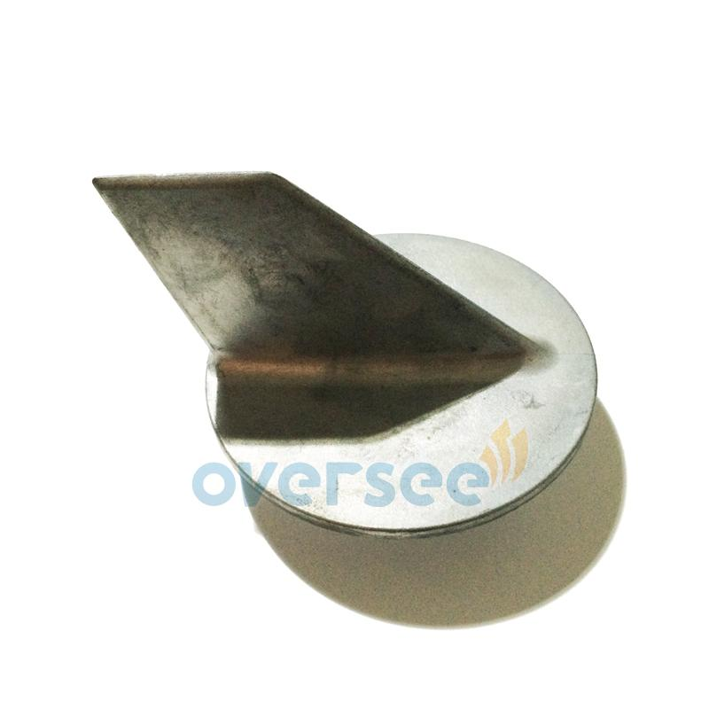 Oversee Alloy Anode for fitting Yamaha Parsun 48HP 55HP 2 Stroke Outboard Spare Engine Parts Model