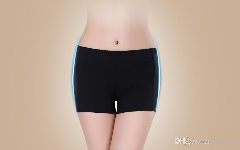 Mode Sexy Femmes Lady Butt Lifter Amélioration De La Hanche Shaper Padies Culottes Sous-Vêtements Creux Out Underwear
