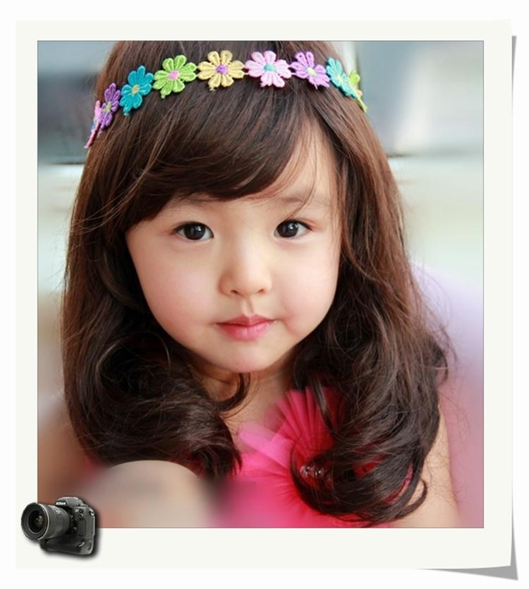 2017 Meveratimes Brand New Korean Style Childrens Wigs Baby Wig Short Hair Natural