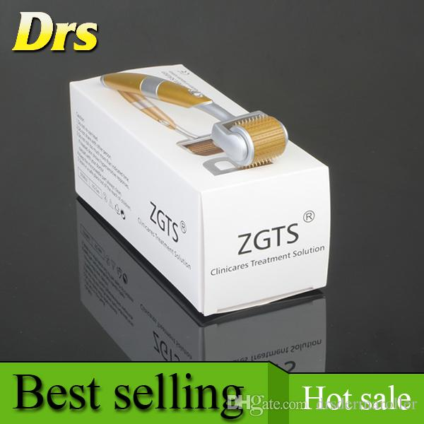 ZGTS 192 Luxury Titanium Micro Needle Derma Roller Meso Roller For Acne Scar