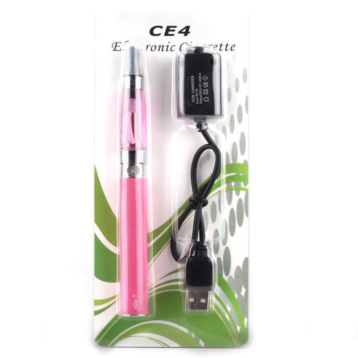 Ego Starter Kit CE4 Atomizer med EGO-CE4 EGO-T-serien 650mAh 900mAh 1100mAh E-cigarett elektronisk cigarett