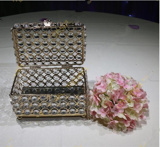 Crystal Beaded Jewelry Box For Wedding Decoration Birthday Decoration  Supplies Birthday Decorations From Sweetweddingprops, $253.27